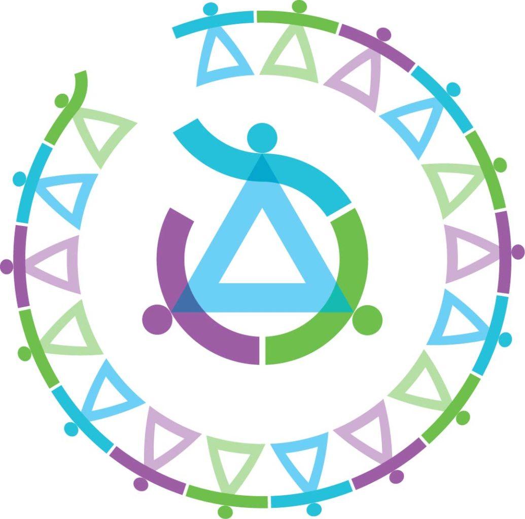NNKY piirinmuotoinen logo