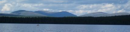 Sininen tunturijärvi