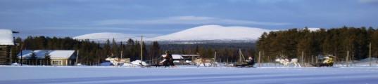 Jerisjärvi talvella