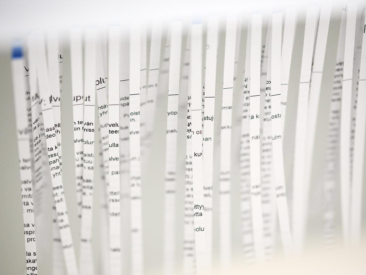 Papereita ja tietoja