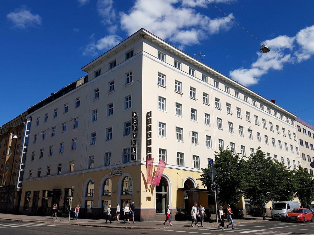 Hotelli Helka Helsingin keskustassa