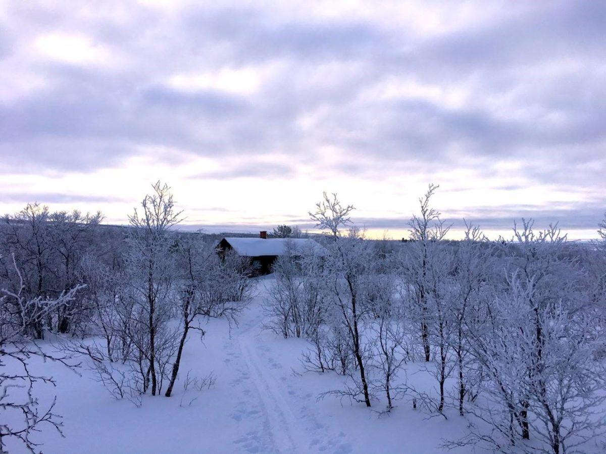 Jerstitupa talvella