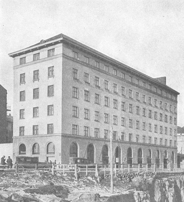 NNKY:n Oma talo valmistui vuonna 1928.