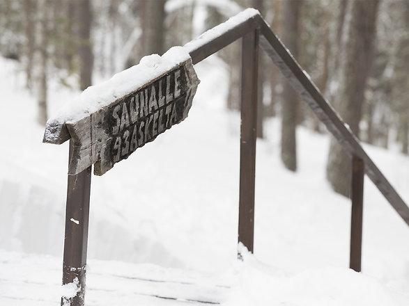 Kaide, saunalle 93 askelta