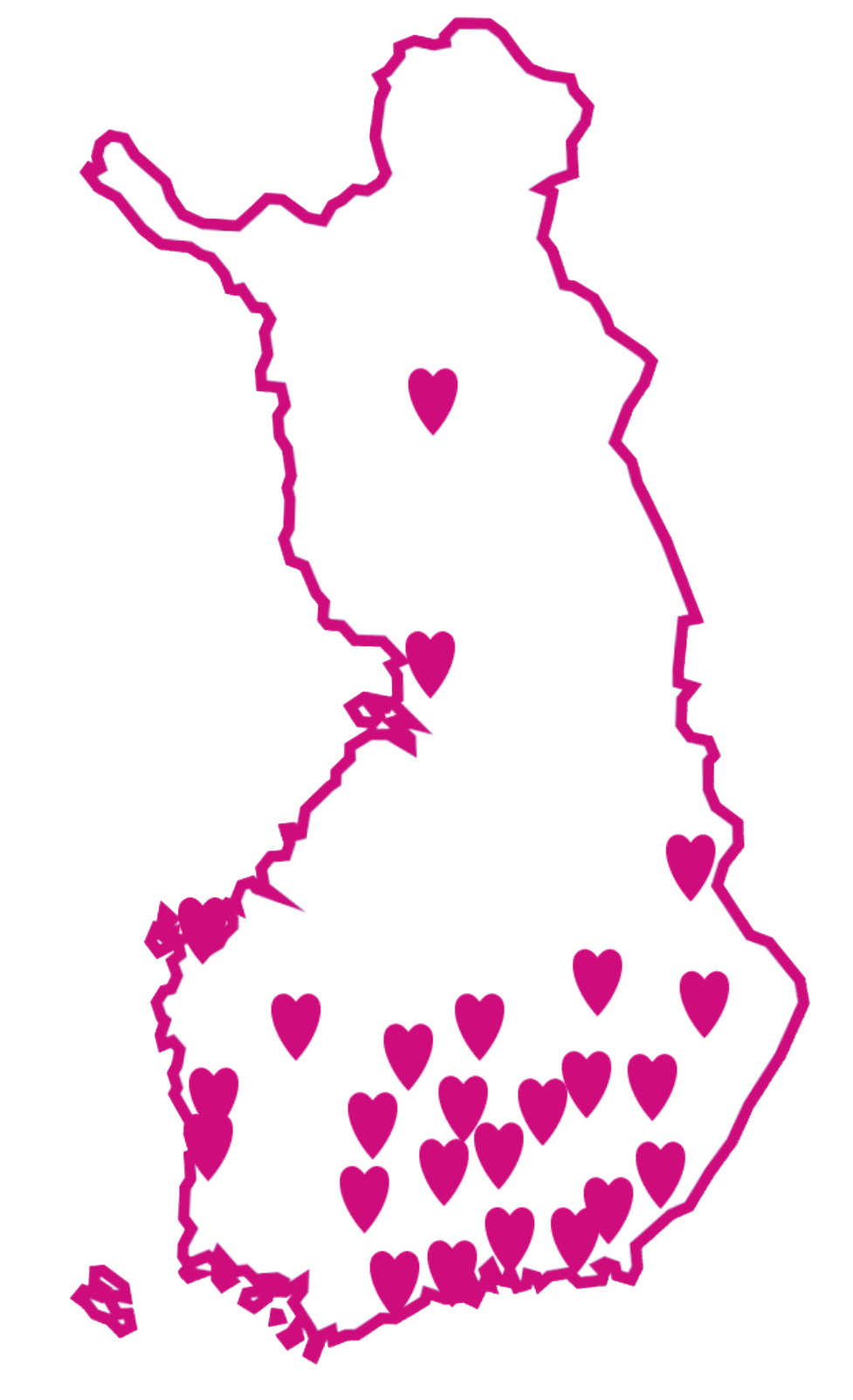 Suomen kartta -piirros