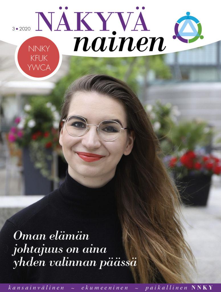 Jäsenlehti Näkyvä Nainen 2/2020 kansi
